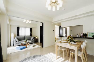 「中古住宅・マンション+リノベーション」なら、新築よりも低予算で理想の住まいを実現でいます。
